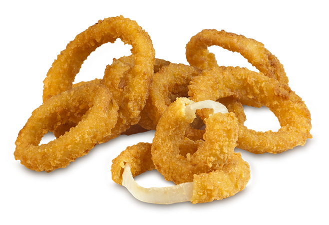 3/8 Inch Breaded Onion Ring