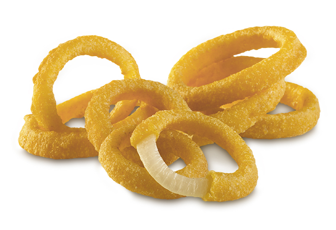 3/8 Inch Battered Onion Ring