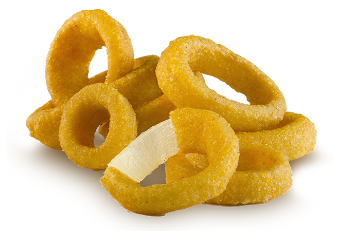 5/8 Inch Battered Onion Ring